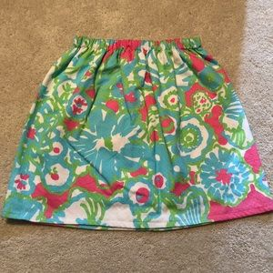 Lilly Pulitzer Print Skirt
